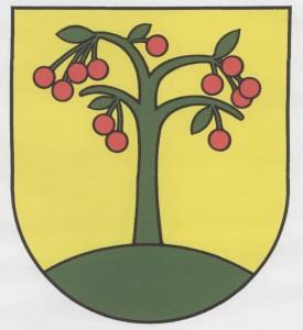 Erb obce Višňové